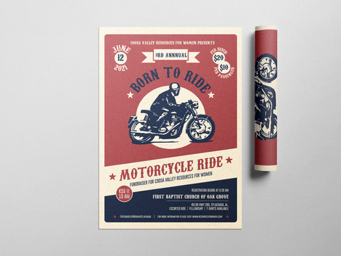 Born to Ride Flyer