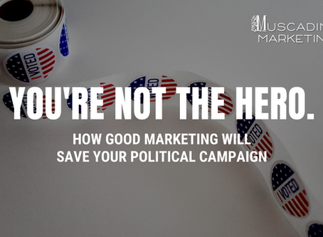 Good Marketing Will Save Your Political Campaign