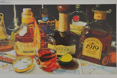 Giclee Canvas print of Liquor