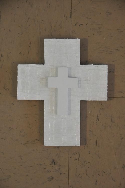Mixed Media Wooden Cross