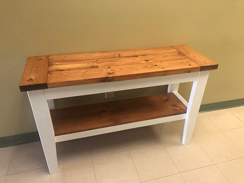 Wooden Foyer Table