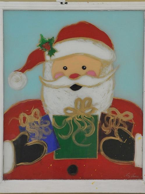 Santa in Window
