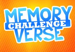 Memory Verse List!