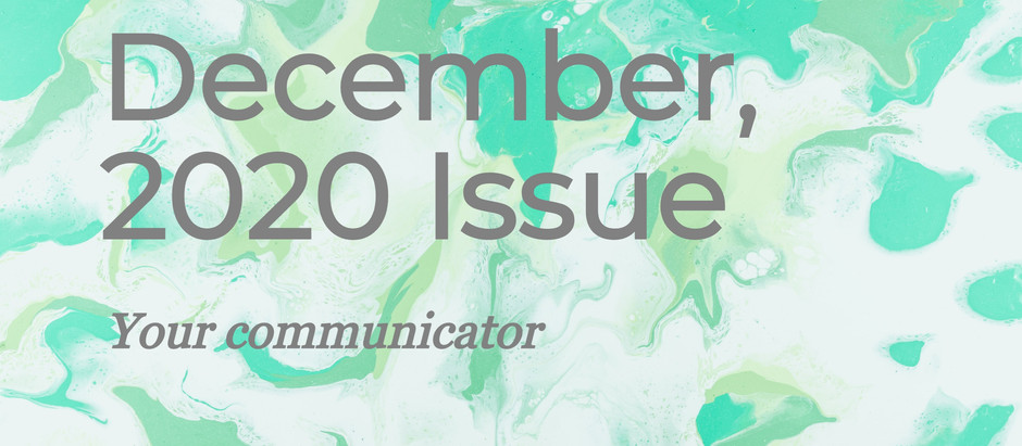 'Your Communicator'- December Issue