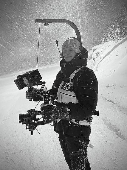 William Jakobsen, Josu Media, commercial shoot, reklamefilm, snøstorm