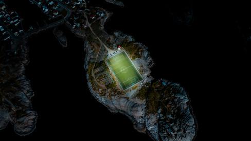 Lofoten football field