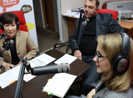 Представители ФПСК в прямом эфире радиостанции «Серебряный дождь Ставрополь»