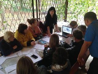 Заседание молодежного совета Краснодарской краевой организации профсоюза.