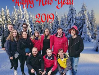Поздравляем наших коллег из Норвегии с наступающим Новым годом !