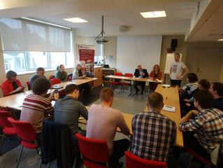 Молодежная профсоюзная встреча в Бергене 14-18 октября 2018 года.