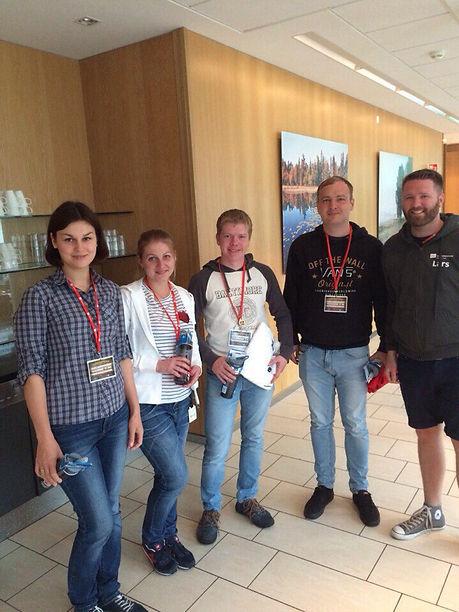Члены молодежного совета ЦК