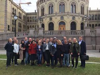 Российско-норвежская  встреча молодежных   советов  Общероссийского профсоюза   работников   жизнеоб