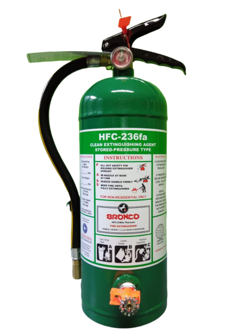 Bronco HFC-236fa Therman Fire Extinguisher