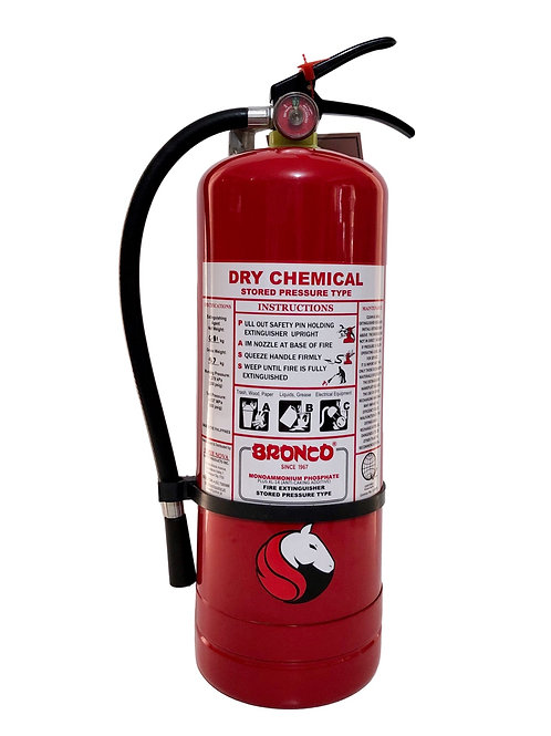 Bronco Dry Chemical  Fire Extinguisher