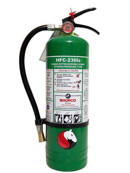 Bronco Clean Agent Portable Fire Extinguisher