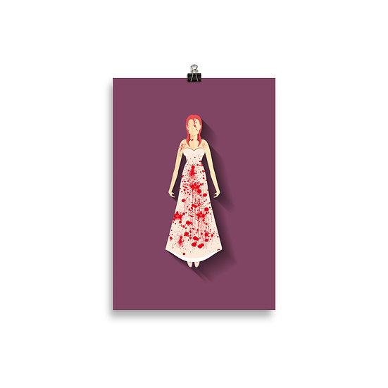 Poster Carrie a Estranha Minimum - Coleção Terror