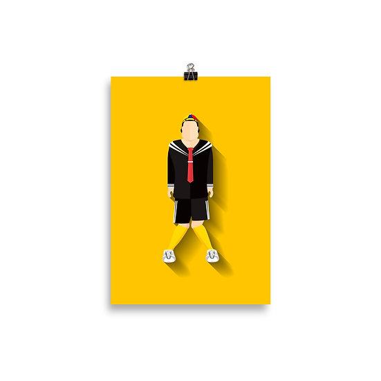 Poster Kiko Minimum - Coleção Turma do Chaves
