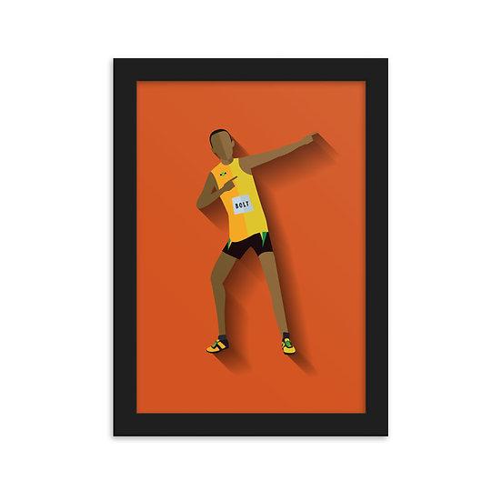 Fine Art Emoldurada Bolt Minimum