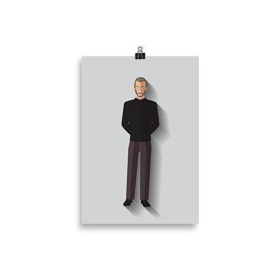 Poster Steave Jobs Minimum - Coleção Seriados