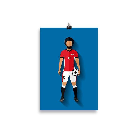 Poster Saha Minimum - Coleção Atletas