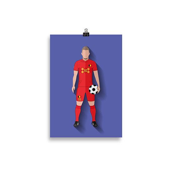 Poster Hazzard Minimum - Coleção Atletas
