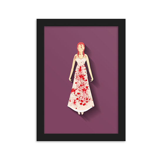 Fine Art Emoldurada Carrie a Estranha Minimum