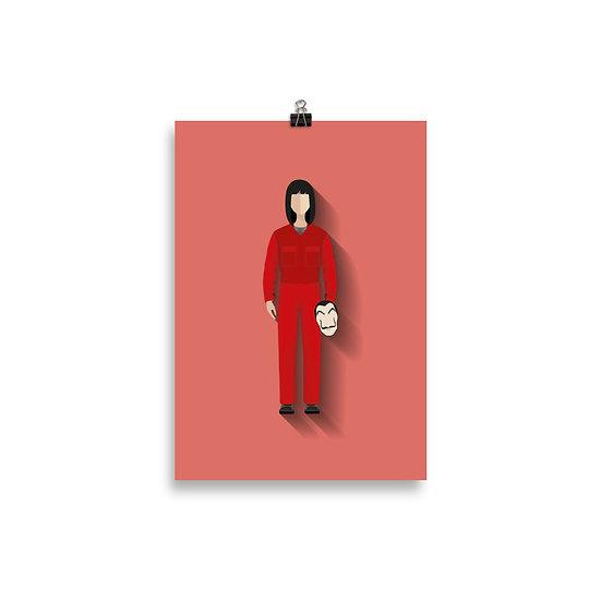 poster Tóquio Minimum - Coleção Seriados