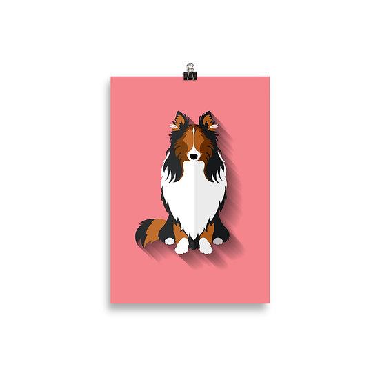 Poster Pets Minimum - Coleçãol Pets