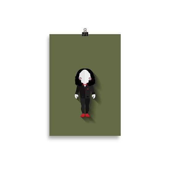 Poster Billy The Puppet - Coleção Terror