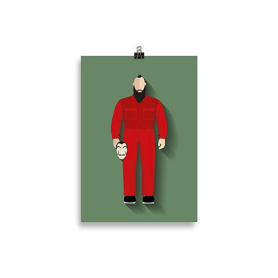 poster Oslo Minimum - Coleção Seriados