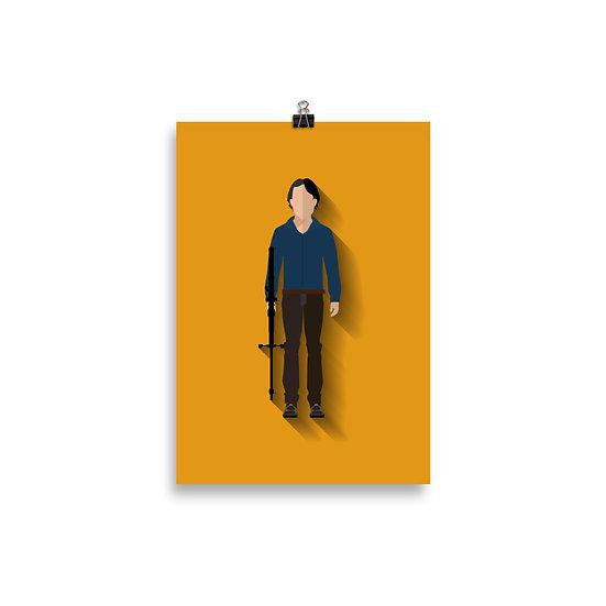 Poster Glen Minimum - Coleção The Walking Dead