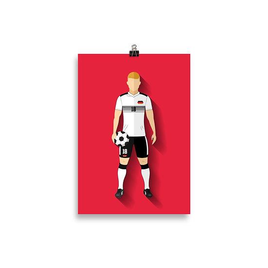 Poster Kross Minimum - Coleção Atletas