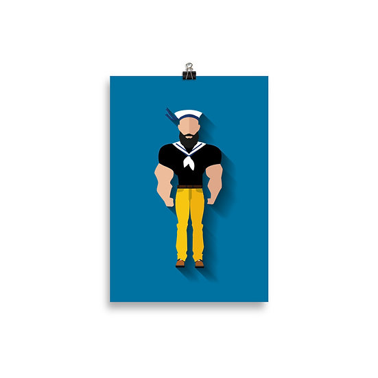 Poster Brutus Minimum - Coleção Clássicos do Cinema