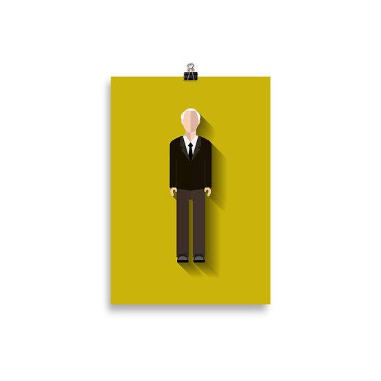 Poster Winnicott Minimum - Coleção Psicólogos