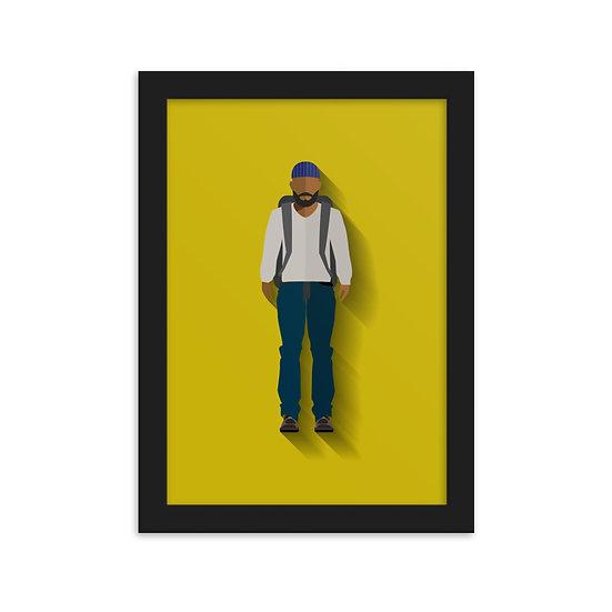 Fine Art Emoldurada Tyreese Minimum