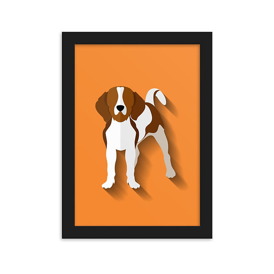 Fine Art Emoldurada Pets Minimum