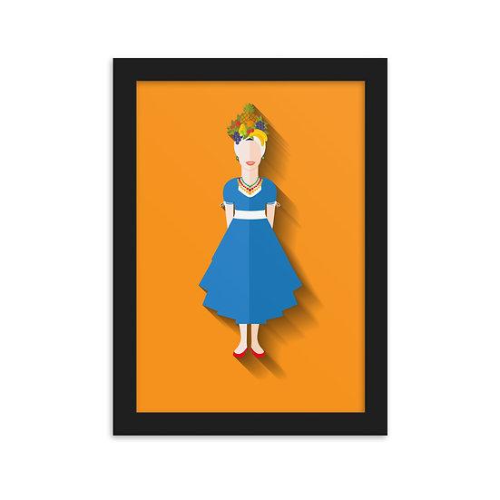 Fine Art Emoldurada Carmen Miranda Minimum