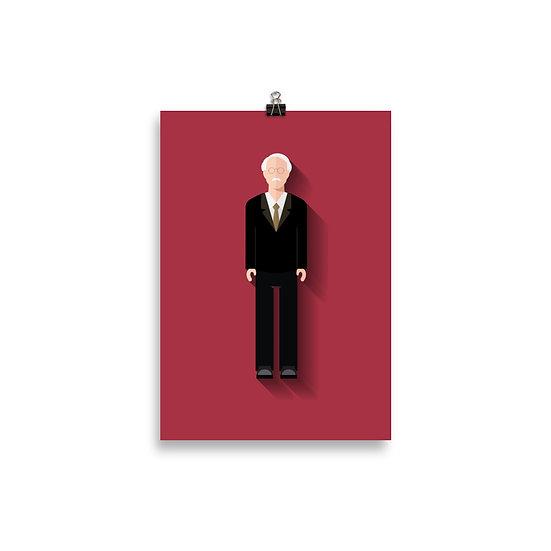 Poster Jung Minimum - Coleção Psicólogos