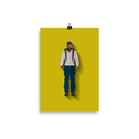 Poster Tyreese Minimum - Coleção The Walking Dead