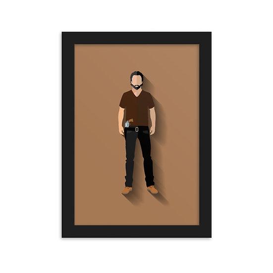 Fine Art Emoldurada Rick Minimum