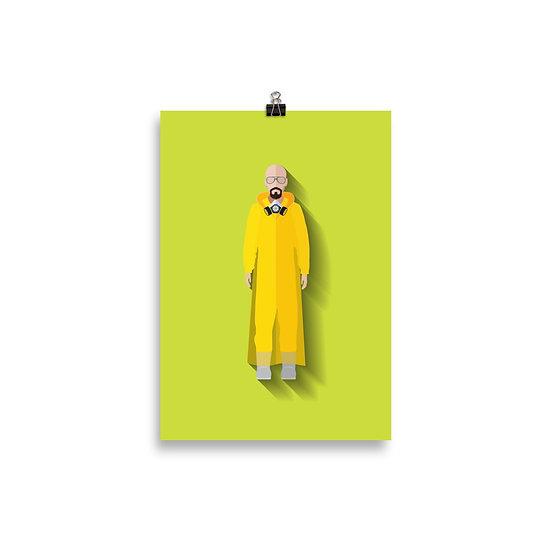 Poster Heisenberg Mnimum - Coleção Seriados