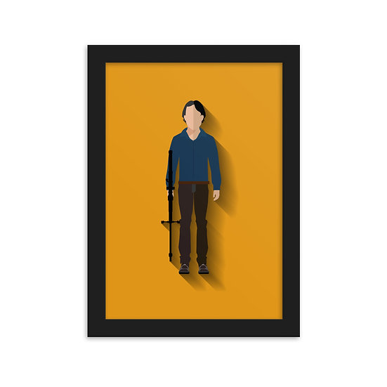 Fine Art Emoldurada Glenn Minimum