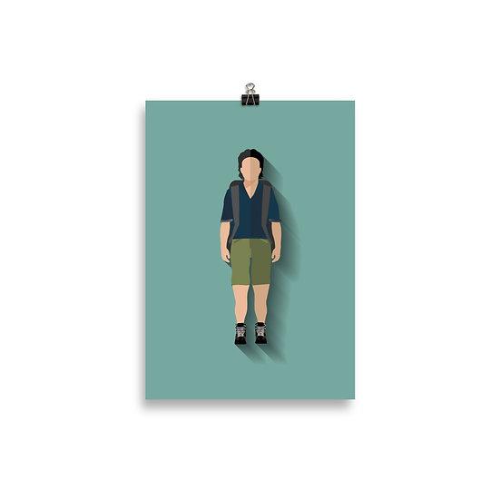 Poster Eugene Minimum - Coleção The Walking Dead