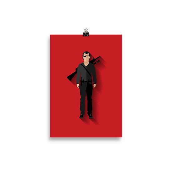Poster O Governador Minimum - Coleção The Walking Dead
