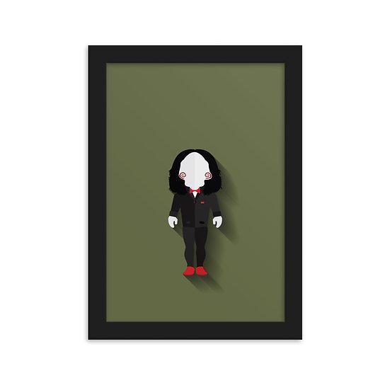 Fine Art Emoldurada Billy the Puppet Minimum