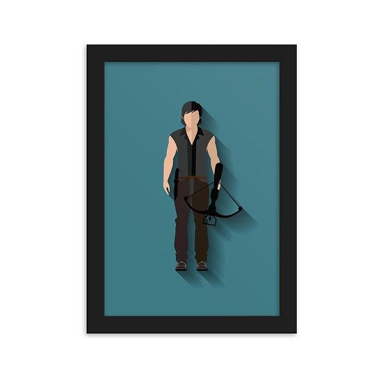 Fine Art Emoldurada Daryl Minimum