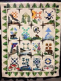 Alaska Quilt Sue Gauvain