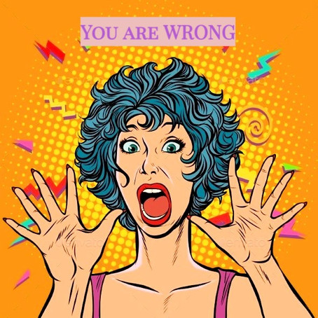 Hai paura di aver torto?| are you afraid of being wrong?