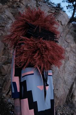 Josh Tafoya- High- Low art (woven tapest