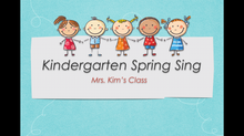 Part 2: Kindergarten Music Program